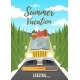 Summer Vacation Loading Poster - GraphicRiver Item for Sale