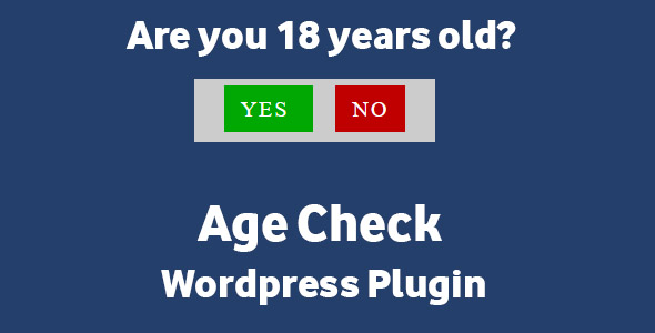 Age Check - Wordpress Plugin