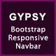 GYPSY - Bootstrap Responsive Navbar - CodeCanyon Item for Sale
