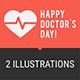Concept Doctors Day People Doctors Ambulance Car Part 1 - GraphicRiver Item for Sale
