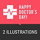Concept Doctors Day People Doctors Ambulance Car Part 2 - GraphicRiver Item for Sale