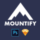 Mountify Mobile UI Kit - GraphicRiver Item for Sale