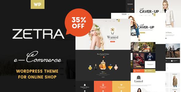 Zetra - A WordPress Theme for eCommerce Websites