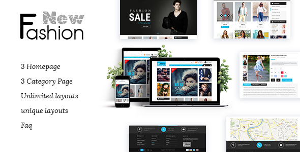 Fashion Multipurpose WooCommerce Theme