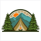 Camping Logo - GraphicRiver Item for Sale