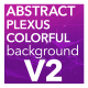 Abstract Plexus Colorful Loops Background V2 - VideoHive Item for Sale