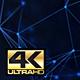 Abstract Dark Blue Digital Internet Social Network Background 4K - VideoHive Item for Sale