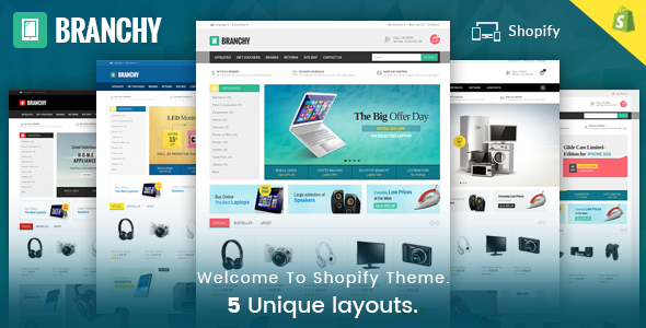 Branchy - Sectioned Multipurpose Shopify Theme