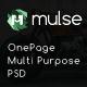 Mulse - Multi Purpose PSD OnePage Template - ThemeForest Item for Sale