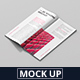 DL Brochure / Magazine Mockup - GraphicRiver Item for Sale
