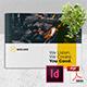 Creative Brochure Template Vol. 21 - A4 Landscape - GraphicRiver Item for Sale