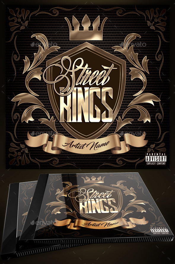 Mixtape Cover Design Graphics Designs Templates