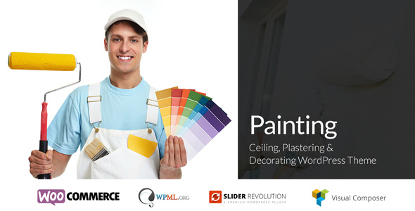 Painting - Ceiling & Decorating WordPress Theme