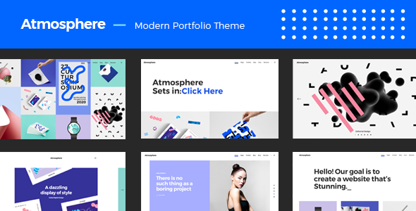 Atmosphere - Bold Portfolio Theme