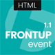 FrontUp - Conference & Event HTML5 Landing Page Template - ThemeForest Item for Sale