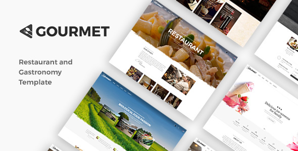 Gourmet - Restaurant And Food Theme