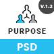 PURPOSE - Creative Business PSD Template - ThemeForest Item for Sale