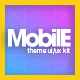 Mobile Theme UI/UX Kit - GraphicRiver Item for Sale