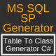 MS SQL Server Stored Procedure Generator - CodeCanyon Item for Sale