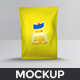 Small Size Potato Chips Bag Mockup - GraphicRiver Item for Sale
