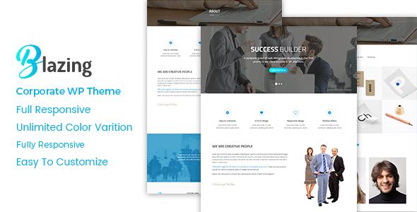 Blazing - Corporate WordPress Theme