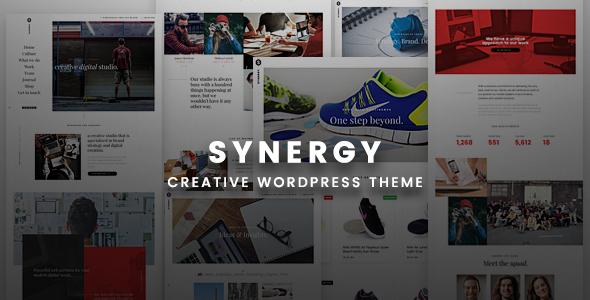 Synergy Creative – Creative WordPress Responsive Theme