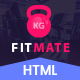 FITMATE - Fitness Studio HTML Bootstrap Theme – Parallax - ThemeForest Item for Sale