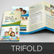 Education School Trifold Brochure v3 - GraphicRiver Item for Sale
