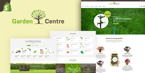 Garden Accessories | Gardening, Landscaping Tools Shopify Theme