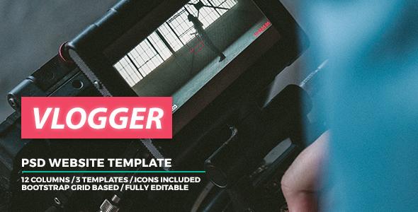 Download Vlogger – Video Website Template Nulled