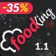 Food King - Restaurant, Food & Cafe HTML Template - ThemeForest Item for Sale