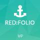 Redfolio - a Responsive OnePage WordPress Theme - ThemeForest Item for Sale