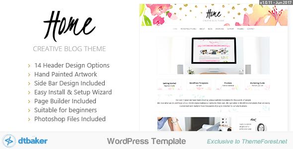 Home Blogger - Creative Shop Theme