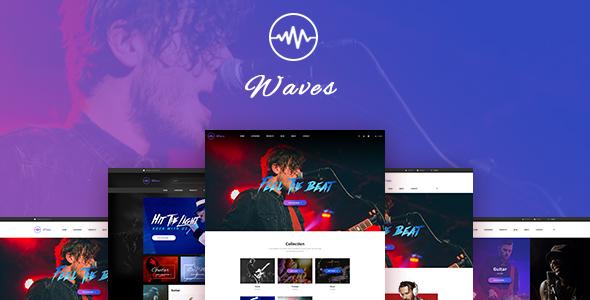 Leo Waves PrestaShop Theme for Musical Instrument