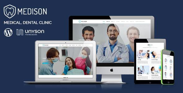 Medison - Medical, Dental Clinic WordPress Theme