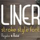 Liner. Font for Logos - GraphicRiver Item for Sale