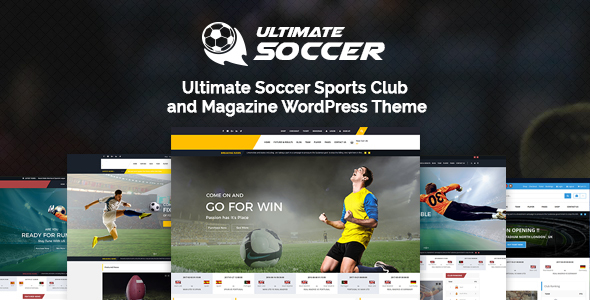 Ultimate Soccer News Magazine WordPress Theme – Sports Club Free Download
