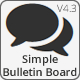 Simple Bulletin Board - Bootstrap Edition - CodeCanyon Item for Sale
