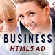 Business | HTML5 Animated Google Banner 04 - CodeCanyon Item for Sale