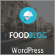 Food Blog Responsive WordPress Theme - ThemeForest Item for Sale