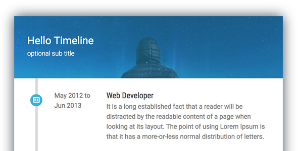 Timeline Card - Addon for WPBakery Page Builder (formerly Visual Composer)
