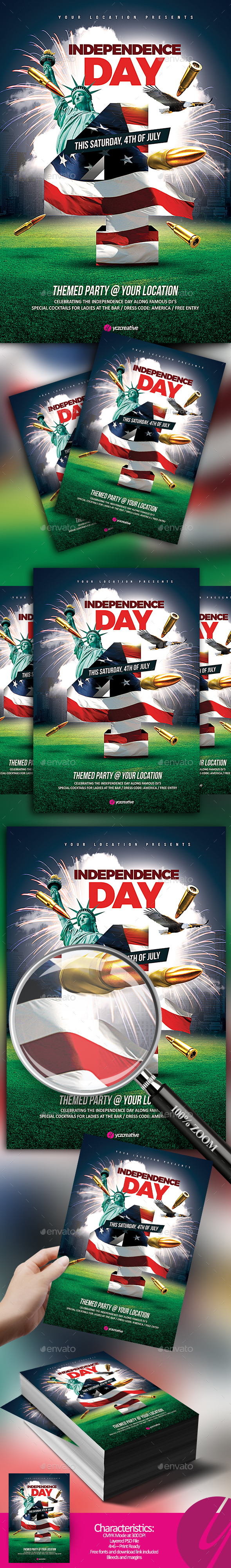 Modern and Music Holiday Events Flyer Templates (Page 4)