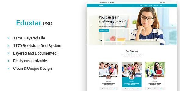 Edustar - Education PSD Template