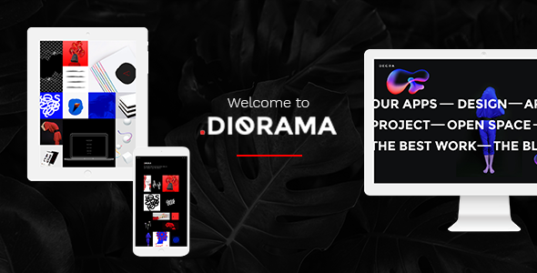 Diorama - Freelancer Portfolio & Agency Theme