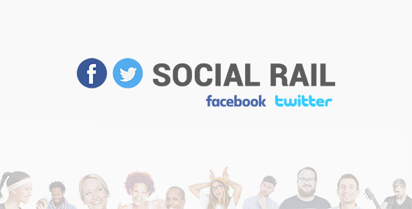 Social Rail - Facebook And Twitter | Social Stream