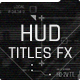 HUD Titles FX - VideoHive Item for Sale