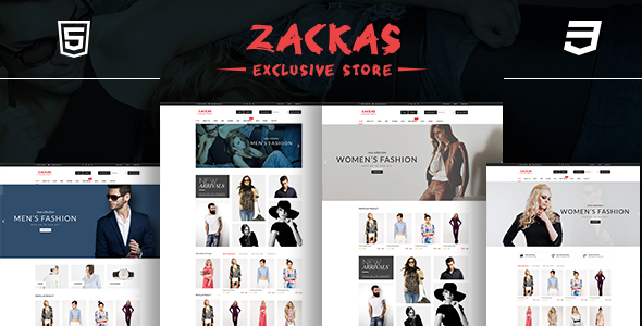 Zackas – Fashion WooCommerce WordPress Theme