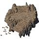 Accessories - Huang Longshan stone steps 01 - 3DOcean Item for Sale
