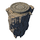 Accessories - Huanglongshan circular platform 01 - 3DOcean Item for Sale