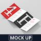 4-Fold Brochure Mockup - DL 99x210mm - GraphicRiver Item for Sale
